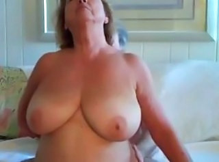 Amateur Big Tits Mature Natural  Wife
