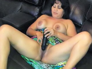 Amateur Dildo Masturbating Mature Toy Wife