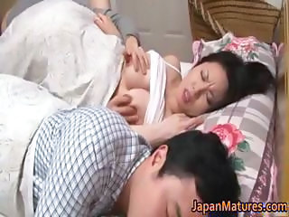 Asian Big Tits Japanese Licking Mature