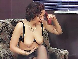 European German Lingerie Mature  Stockings