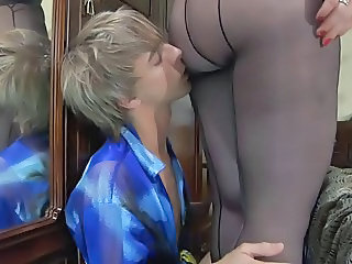 Ass Mature Pantyhose