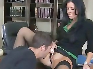 Licking  Office Stockings Teacher
