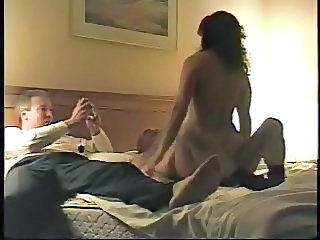 Cash Riding Threesome Wife