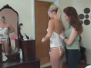Daughter Lesbian Lingerie Mom