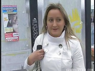 Amateur European  Outdoor Pov Public