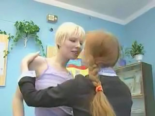 Lesbian  Old and Young Russian School Student Teacher Teen