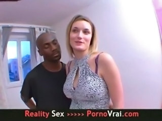 Amateur Big Tits Interracial