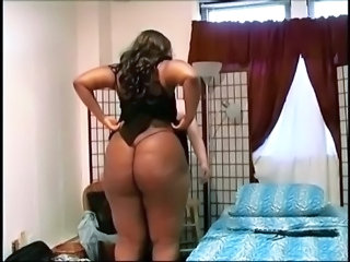 Ass  Ebony  Panty