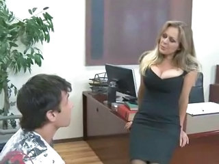 Big Tits  Office Teacher