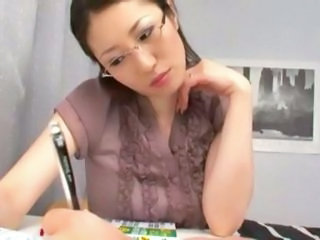 Asian Glasses Japanese  Teacher