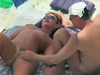 Amateur Beach  Nudist Outdoor Wife