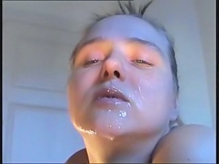 Cumshot Facial European Italian