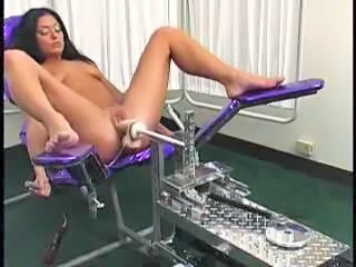Machine Masturbating