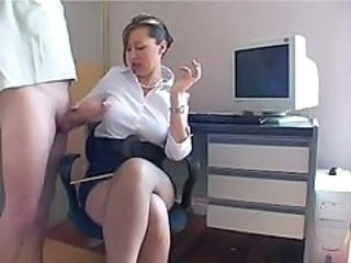Handjob  Office