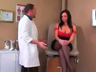 Big Tits Doctor  Stockings