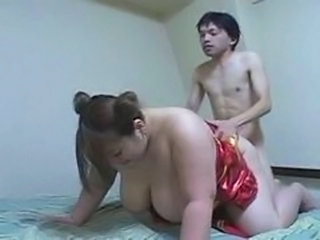 Asian  Big Tits Doggystyle  Natural