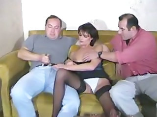 Panty Stockings Threesome