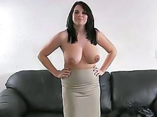 Amateur Big Tits Casting Chubby  Natural