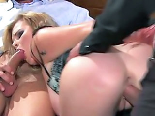 Ass Blowjob  Hardcore  Threesome Wife