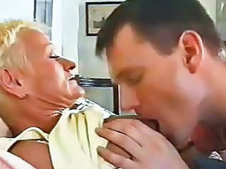 Granny Kissing Nipples