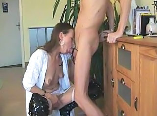 Deepthroat European German Mature Wife