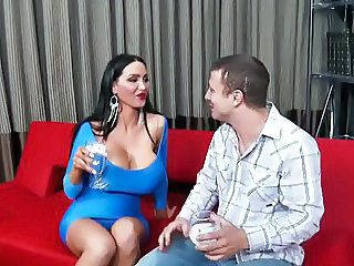 Amazing Big Tits Drunk  Old and Young Pornstar