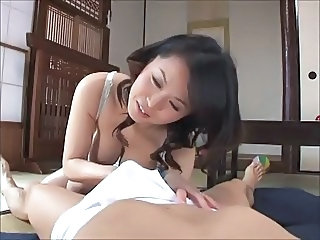 Asian Handjob Japanese  Mom Old and Young