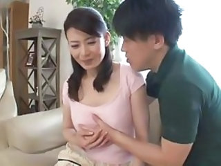 Asian Cute Japanese Mom