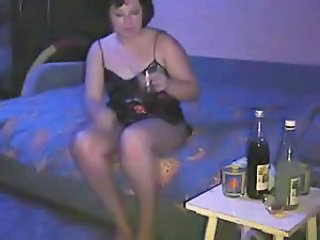 Amateur Drunk Homemade Wife