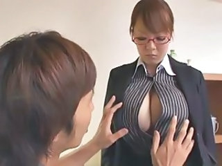 Asian Big Tits Glasses Japanese  Natural Pornstar Teacher