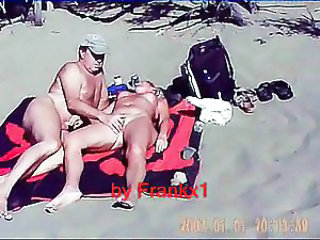 Beach Nudist Outdoor Voyeur Wife