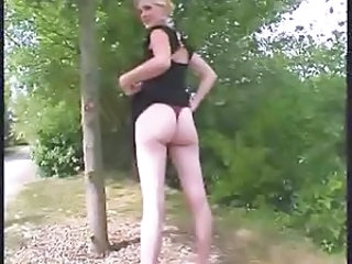 Ass European French Outdoor Wife