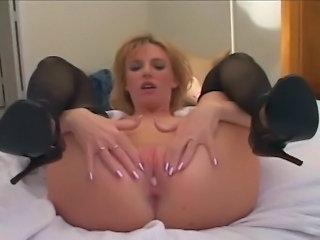 Holly Wetlove does two big guys.