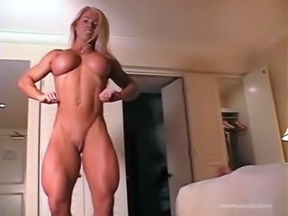 Big Tits  Muscled Silicone Tits