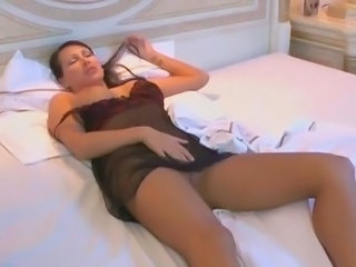 Big Tits European German Lingerie  Silicone Tits Stripper
