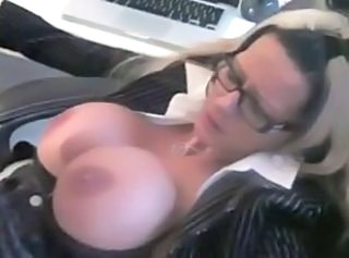 Big Tits Glasses  Silicone Tits