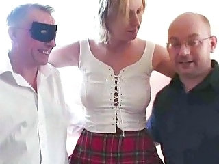 Amateur Cuckold Older Threesome Wife