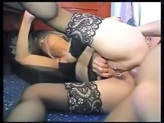 Anal  Hardcore Mature Piercing Stockings