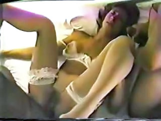 Amateur Homemade Interracial  Threesome Wife