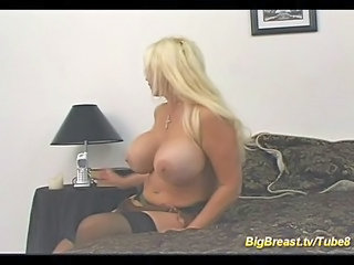 Big Tits Blonde  Silicone Tits Wife