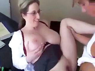Big Tits Glasses  Mom Natural Old and Young Teacher