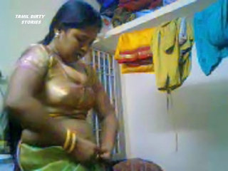 Amateur Chubby Homemade Indian Mom