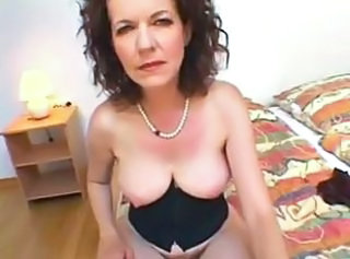 Hairy Interracial Mature Mom
