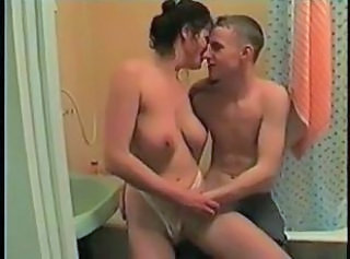 Amateur Bathroom Homemade  Mom Old and Young