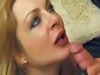 Anal Blonde Blowjob European French  Natural