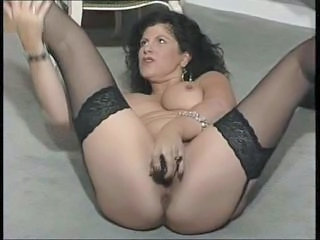 British Dildo European  Stockings