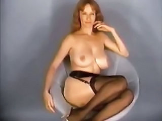 Big Tits  Natural Stockings Vintage