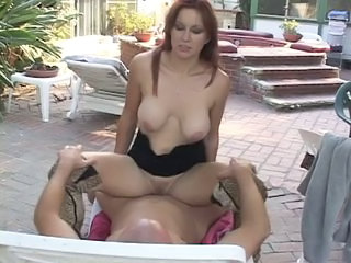 Big Tits Hardcore  Natural Outdoor Redhead Riding