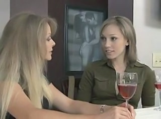 Cute Daughter Drunk Lesbian  Mom Old and Young Teen