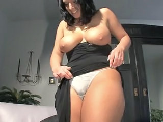 Big Tits  Natural Panty Stripper